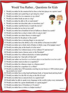 Clean questions list for kids work/school life обучение английскому, малень Kids And Parenting, Parenting Hacks, Natural Parenting, Would You Rather Questions, Would You Rather Kids, Material Didático, E Mc2, Ice Breakers, Brain Breaks