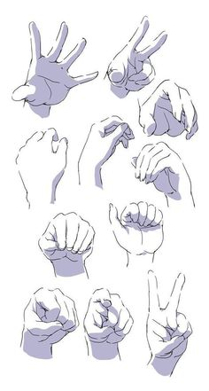 Hand Drawing Reference, Drawing Reference Poses, Drawing Body Poses, Anatomy Reference, Arte Com Grey's Anatomy, Anime Drawings Sketches, Hand Drawings, Sketches Of Hands, Figure Drawings
