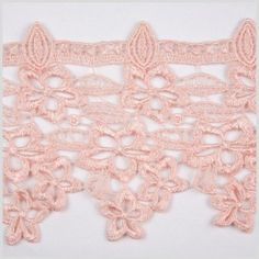 This is a blended lace trim great for a variety of applications. Can be used for home or apparel products.