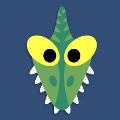 Masketeers Printable Masks: Printable Dinosaur Masks
