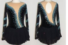 Competition Dress -TS27 [TS27] - $159.95 :: Tina's Skate Wear - Custom Make-to-Fit Skating Dresss, Figure Skating Dresses, Baton Twirling/Dance Costumes.