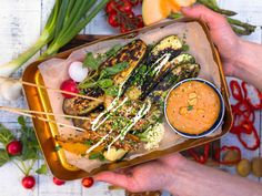 Seaweed Salad, Chipotle, Tofu, Ramen, Bbq, Ethnic Recipes, Red Peppers, Barbecue, Barrel Smoker