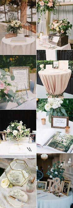 chic wedding guest book sign in table decoration ideas for 2018 #weddingideas #weddingdecor #weddingreception #weddingdecorations