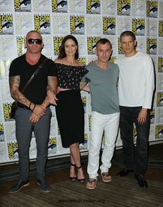 Prison Break comic con 2016