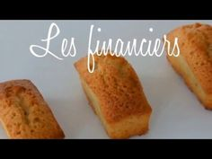 Les financiers (recette facile et rapide) - YouTube Cap Cake, Biscotti, Banana Bread, French Toast, Breakfast, Desserts, Food, Youtube, Financier