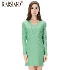 2be3bfa53ea Dresses For Pregnant Women, Business Dresses, Round Collar, Maternity  Dresses, Green Dress