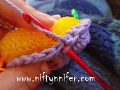 Free Simple Crochet Scrubby Pattern by Niftynnifer