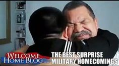 The Best Surprise Military Homecomings | Chill
