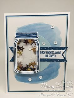 Jar of Love stamp set, Everyday Jars Framelits, Stampin' Up!