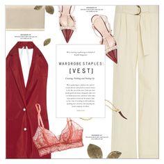 """Wardrobe Staples: Vest"" by monazor ❤ liked on Polyvore featuring Rosie Assoulin, Eberjey, Kate Spade, Diane Von Furstenberg, Pembe Club, summerstyle, vest, womenfashion, chicoutfit and summer2016"