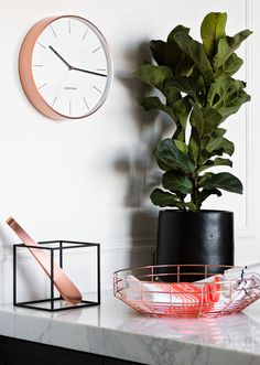Interior stylist Steve Cordony shows us how to incorporate one of the biggest interiors trends of the season — copper and fluoro. Read more at http://www.countryroad.com.au/livewithus/how-to-decorate-with-copper-and-fluro.html