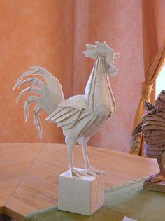 Origami cock