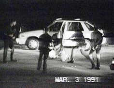 Still from the Rodney King beating African American Men, Native American History, European History, British History, History Jokes, History Timeline, History Photos, Rodney King, Creepy People