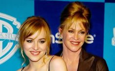 Melanie Griffith with daughter Dakota whom she had with ex-husband Don Johnson.