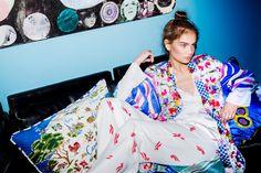 Holly Golightly Copenhagen - SS16 Campaign / Photo: Trine Hisdal / Styling: Julie Svendal / Instructors: Tone Reumert & Julie Svendal / Make-up: Pernille Holm / Model: Nina Marker - Elite Models / MARNI / T.A.C / CHLOÉ