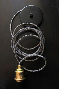 Image result for coloured pendant light flex