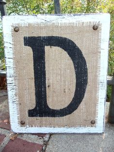 """Rustic sign. Turn horizontal and write """"Timshel"""" : )"""