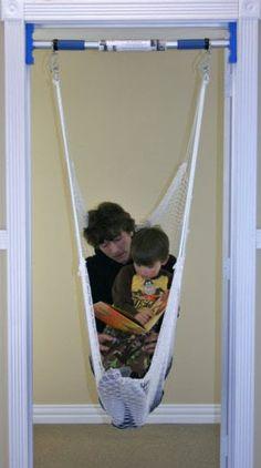 Therapy Indoor Doorway Swing - Support Bar and Hammock