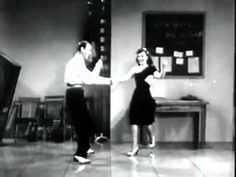 """Video of """"Dig It"""" number from Second Chorus (1940) with Fred Astaire & Paulette Goddard"""