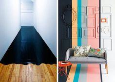 50 idées déco de parquet peint