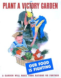 #F27 Occupy Our Food Supply is just the beginning. Time for victory over corporate control of our food supply. Let's make new posters for Occupy Victory Gardens inspired by these amazing artists.