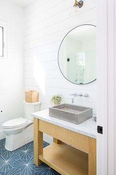 Modern farmhouse bathroom with shiplap and freestanding vanity This bathroom feels very current The custom White Oak washstand features a concrete vessel sink Modern farmhouse bathroom with shiplap and freestanding vanity bathroom Rustic Bathroom Designs, Modern Farmhouse Bathroom, Rustic Bathroom Decor, Rustic Bathrooms, Vessel Sink Bathroom, Small Bathroom, Bathroom Canvas, Bathroom Ideas, Bathroom Renovations