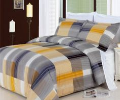 California King Size Bed in a Bag Comforter Set Egyptian Cotton 8 Pieces  Amber *** Details can be found by clicking on the image.
