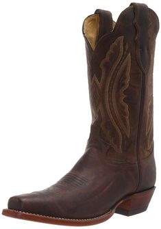 Justin Boots Women's U.S.A. Domestic Western 12' Boot Wide Square Double Stitch Toe Leather Outsole,Tan Distressed Vintage Goat,8.5 B US *** Insider's special review you can't miss. Read more  : Cowgirl boots