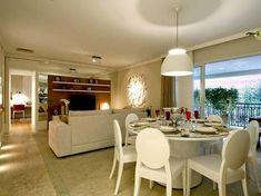 Decor Salteado - Blog de Decoração | Construção | Arquitetura | Paisagismo: 30 Salas de Jantar e Estar Integradas + Dicas e Tendências!