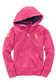 a068b807bb69 Ralph Lauren Childrenswear Big Pony Hoodie Girl 7-16