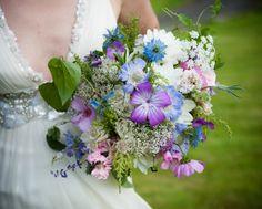 Wild flower bouquet amamda gard photography