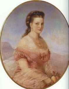 Queen Olga of Greece (1851-1926), nee Grand Duchess Olga Constantinovna of Russia, spouse of King George I.  A life full of sorrows.  Grandmother of Prince Philip, Duke of Edinburgh.