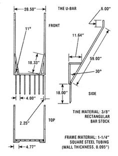 Prepare the soil in your raised bed in one-sixth the time using a U-bar, also known as a broadfork garden tool. Originally published as
