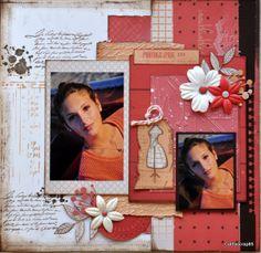 Une page en Lorelaï Design - Le blog de cathyscrap85