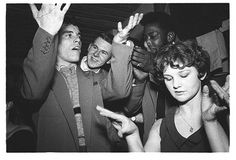 Ken Russell photo of dancers in the Cat's Whisker, a popular coffee bar in Soho, devised a means of dancing using hand gestures because there was no space to manoeuvre. Teddy Girl, Teddy Boys, Dance Meaning, Ken Russell, Army Clothes, Cat Whiskers, Documentary Photographers, Ballroom Dancing, Dance Photos