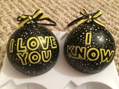 MADE TO ORDER: slight differences may apply.  These ornaments are hand painted with quality acrylic paint, 3 inches in diameter, have a black and