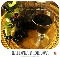 Kuchenna Kontrrewolucya: Nalewka z aronii Chocolate Fondue, Red Wine, Alcoholic Drinks, Glass, Desserts, Food, Tailgate Desserts, Deserts, Drinkware