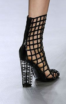 YSL cage shoe