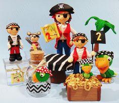 Cris Ubara - Biscuit para festas: Festinha pirata