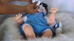 bebe de pano  menino