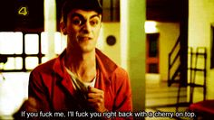 """He's a true fighter. 17 Reasons We Should All Want To Be Rudy From """"Misfits"""" Anxiety Disorder Treatment, Joseph Gilgun, Joseph Williams, Buzzfeed Community, How To Cure Depression, Bbc Tv, British Boys, Torchwood, Peaky Blinders"""