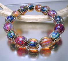 Loribeads - Ooh, Shiny!  SRA lampwork beads handmade