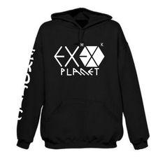 EXO PLANET (EXOTIC SLEEVE) DOUBLE THREAT HOODIE