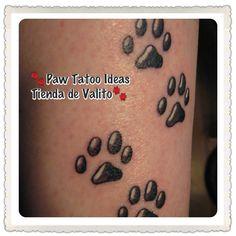 Paw Tatoo Ideas