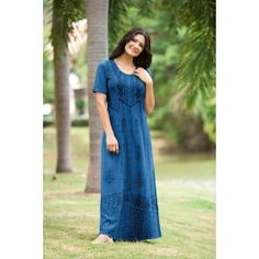 Timandra Embroidered Maxi Dress 4X - 4X - Shop by Size - Dresses  $52.99 back is different