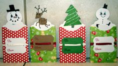Gift card holders - made using my Cricut  Deanne's Crafting Adventures