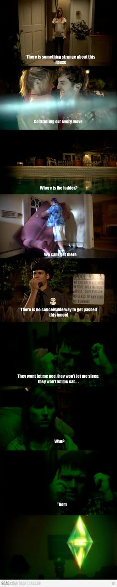 The Sims horror movie. HILARIOUS. not gonna lie, I laughed waaay too hard at this