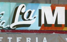 Photographs of lettering around the zocalo in acapulco, Mexico 2008, Kel Troughton