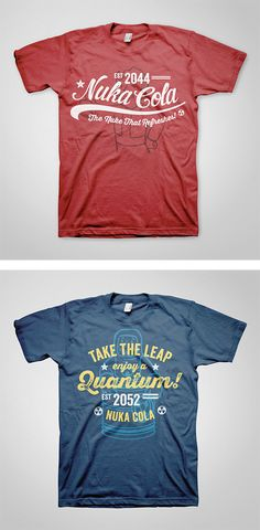 Fallout T-Shirts by Ello Mate Studio