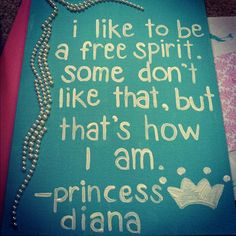 I like to be a free spirit.  Some don't like that, but that's home I am.